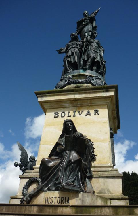 A la gloria de Simón Bolívar